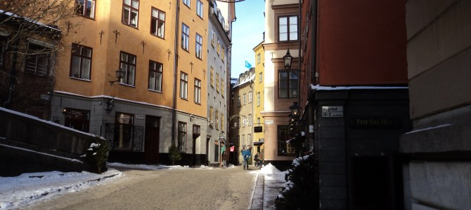 Stockholm…..in Winter
