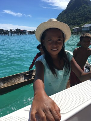 Sea Gypsies….and the Girl in my Hat