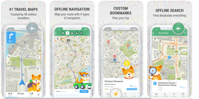 These are the must have free travel apps that work offline. Google maps, maps.me, amazon kindle, trip it and many free offline apps that will make your trip memorable. #freetravelapps #offlineapps #travelappsthatdonotneedwifi #bestfreetravelappsthatworkoffline #triphobo #googletrip #tripcase #googletranslate