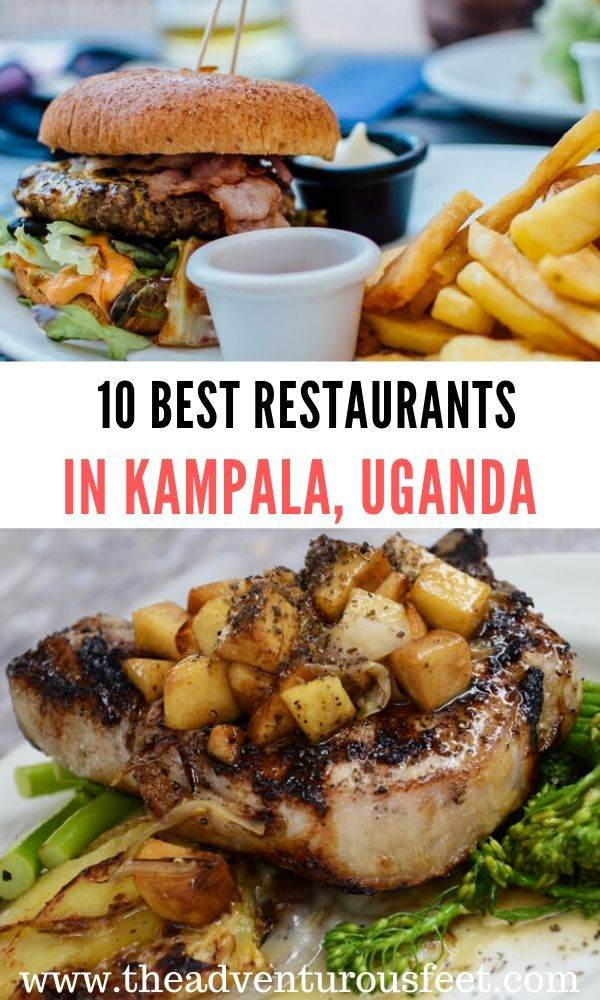 Looking for where to eat at in Kampala? Here are the 10 best restaurants in Kampala that serve delicious meals and also offer an amazing ambience.  top restaurants in Kampala   kampala restaurants   best restaurants of kampala  best cafes in kampala, uganda  #restaurantsinkampala #kampalarestaurants #theadventurousfeet