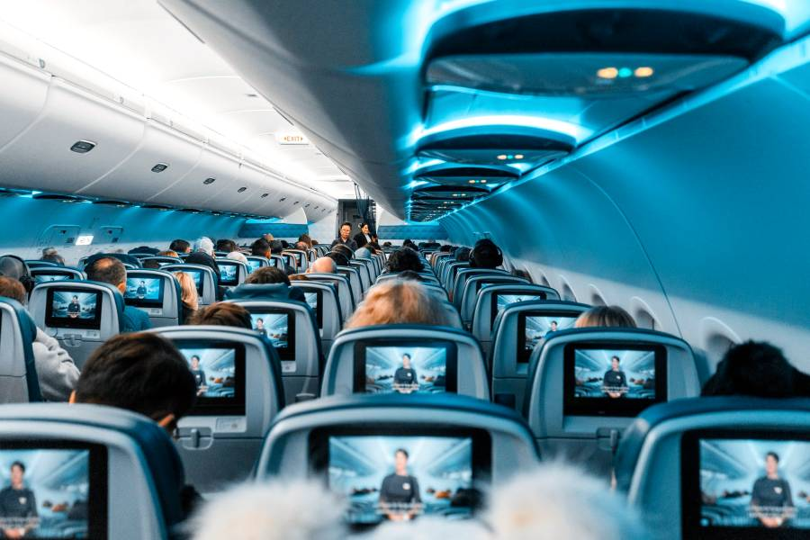 how to survive a long flight
