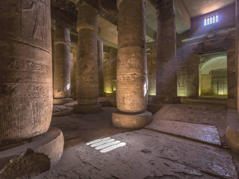 Abydos Temple is one of the famous monuments of Egypt