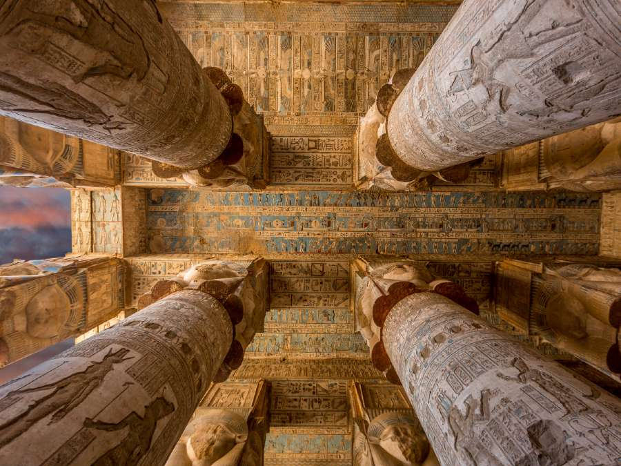 Dendera Temple Complex is one of the most famous landmarks of Egypt