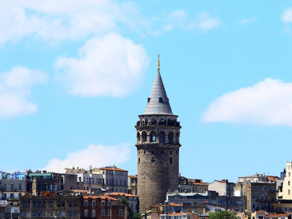 Taking in Sunning Views of Istanbul at Galata tower is one of the best things to do in Istanbul at night