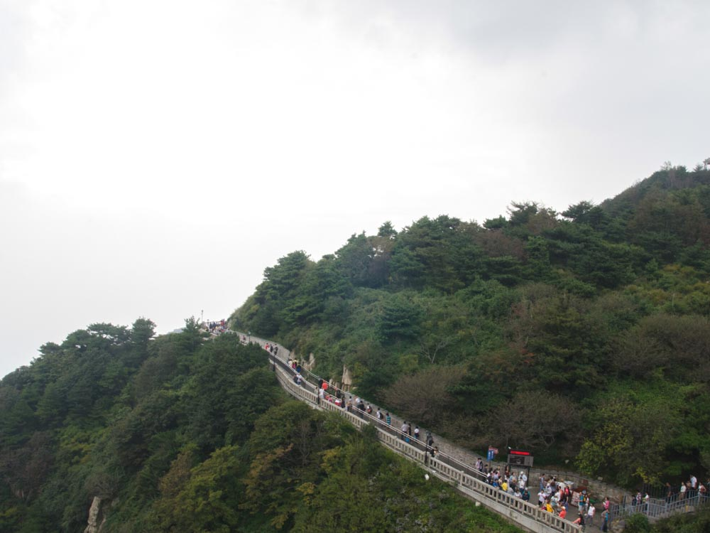 Mount Tai is one of the famous Chinese landmarksMount Tai is one of the famous Chinese landmarks