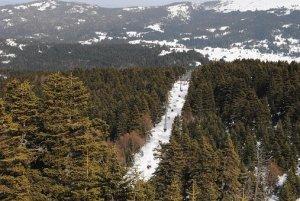 uludag, ski resort in bursa