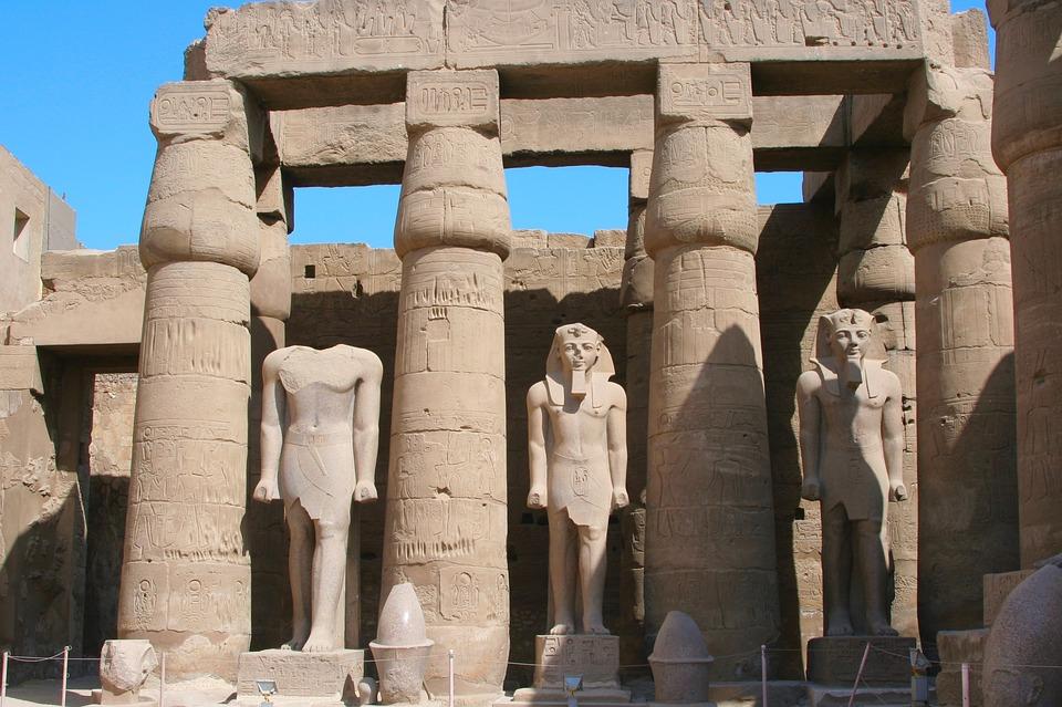 karnak temple is one of the landmarks in egypt