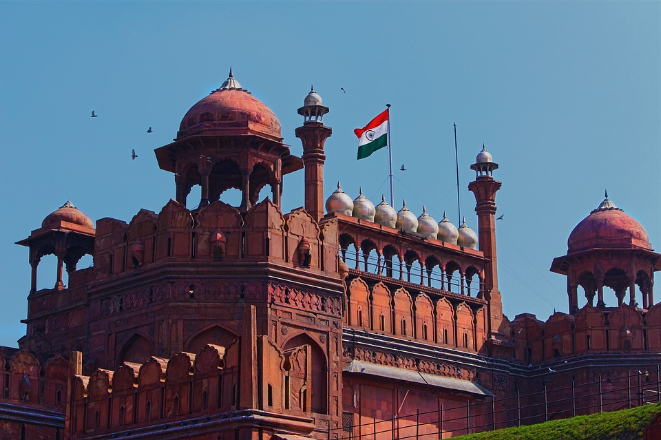 red fort-india
