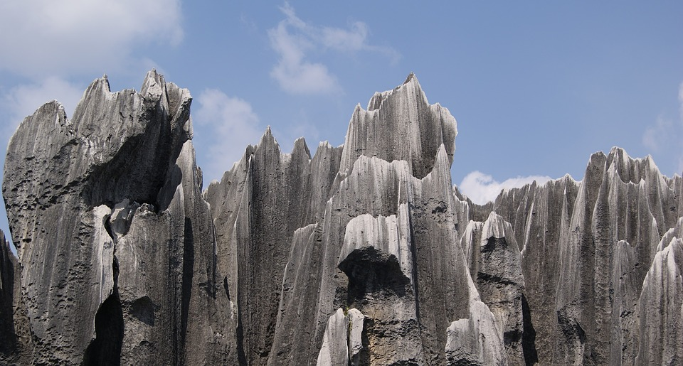 Stone Forest (Shilin) is one of the famous landmarks of China
