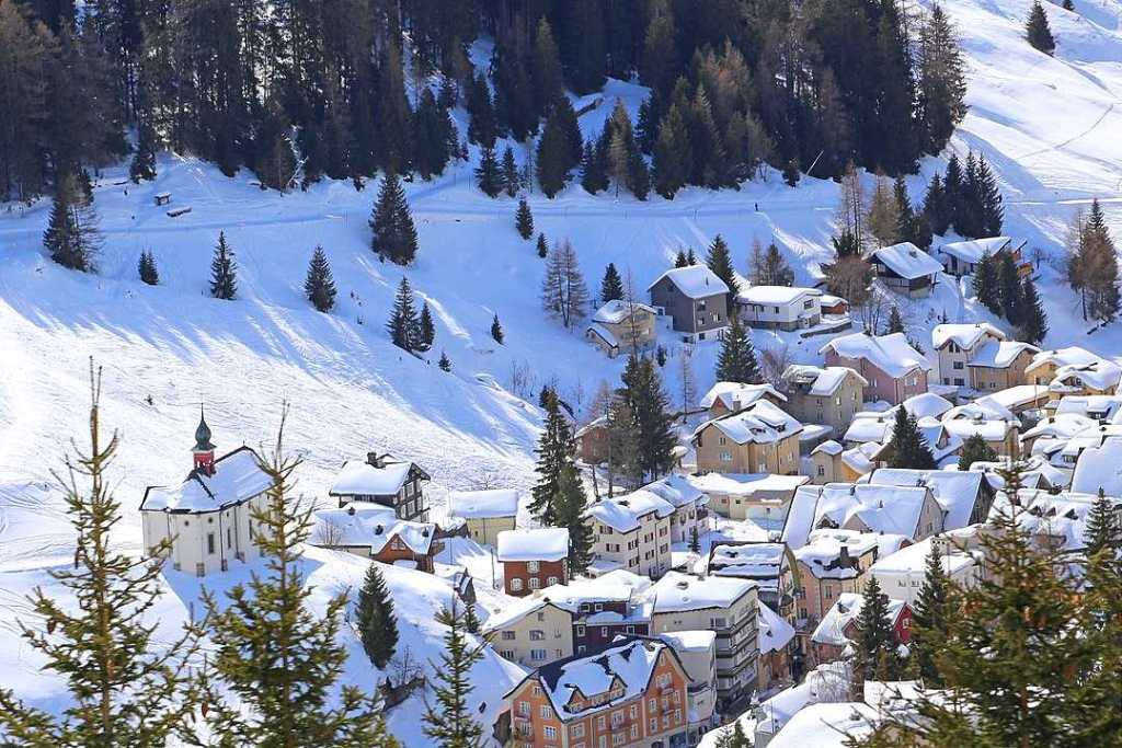 Andermatt is one of the cheapest ski resorts in Europe