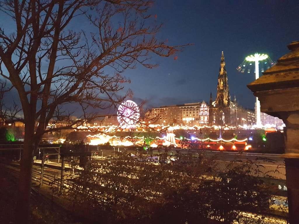 Edinburgh, Scotland in winter