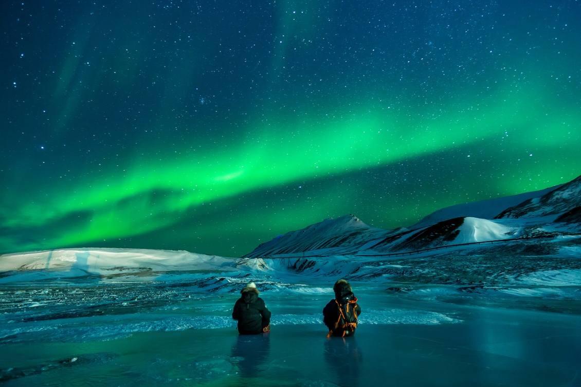 Europe northern lights