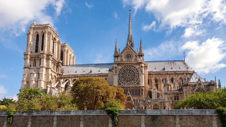 Notre- Dame Cathedral is one of the famous buildings in Europe
