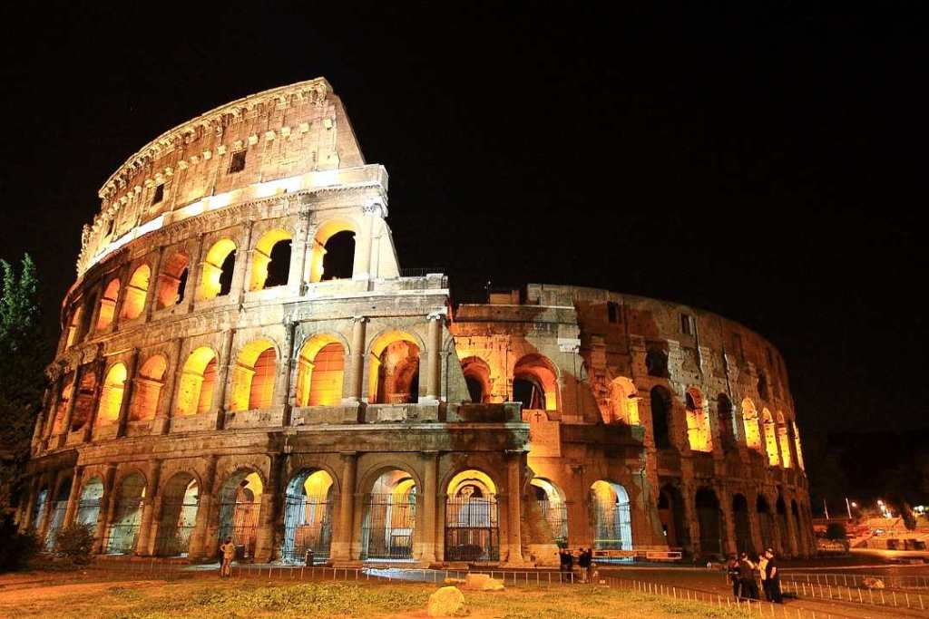 The colosseum is one of the famous landmarks of Europe