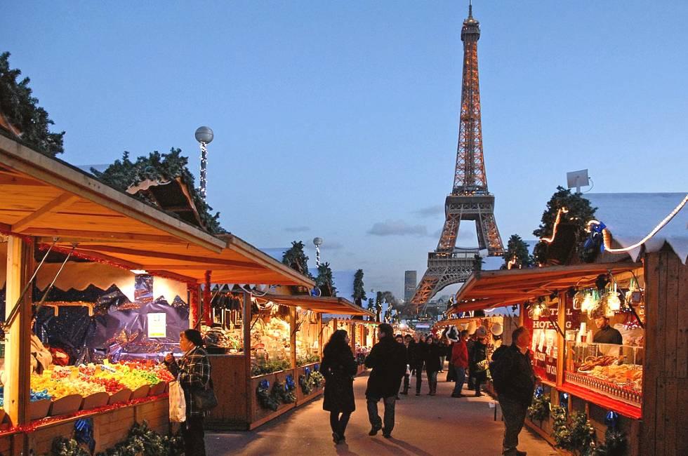 paris christmas markets (