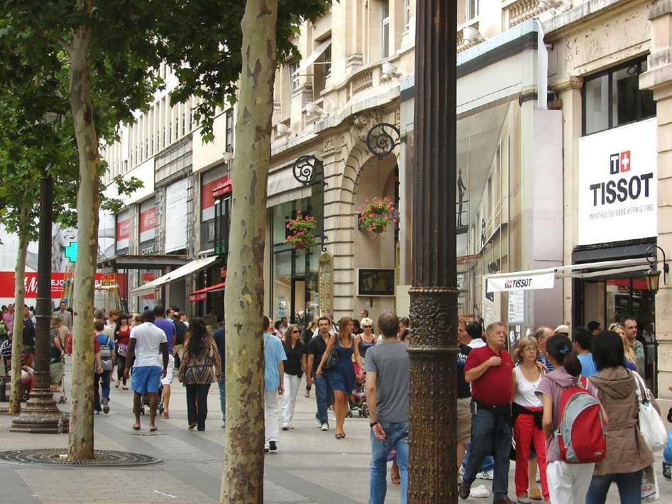 Champs Elysées paris in a day tour