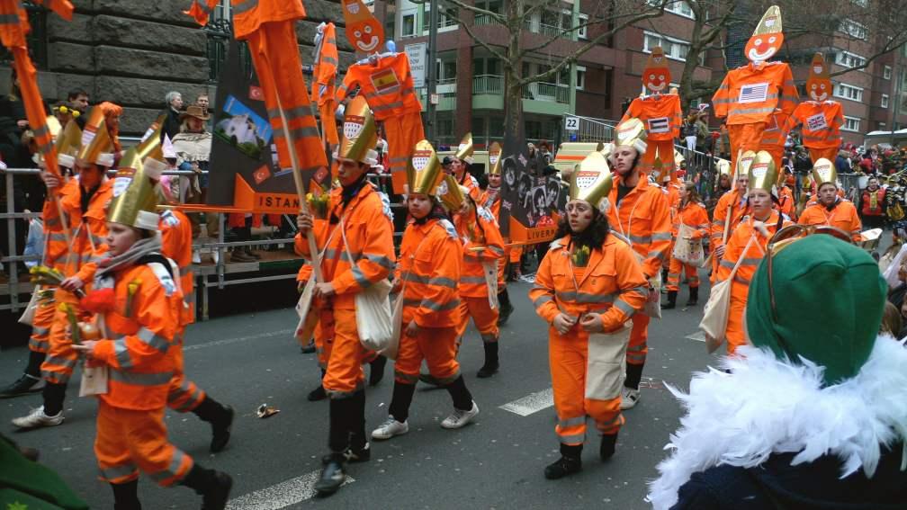 Cologne Carnival- winter festival in Europe