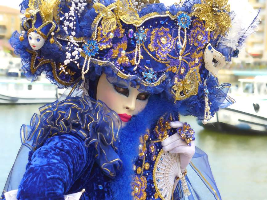 venice carnival - one of the winter festivals in Europe