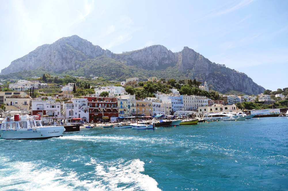 Capri, Italy is one of the most romantic places to visit in Europe