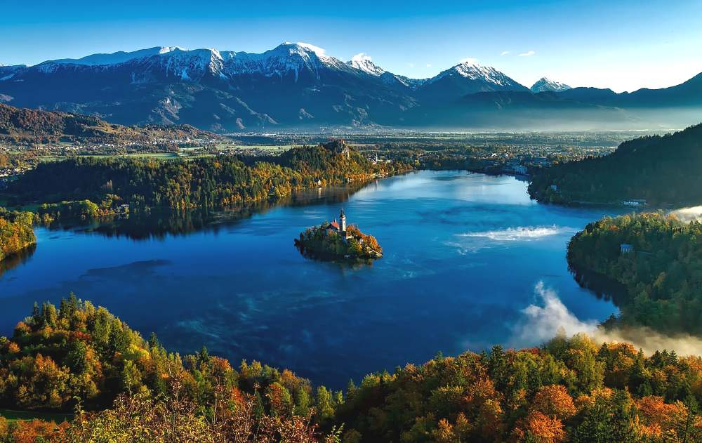 Lake Bled, Slovenia is one of the most romantic places in Europe