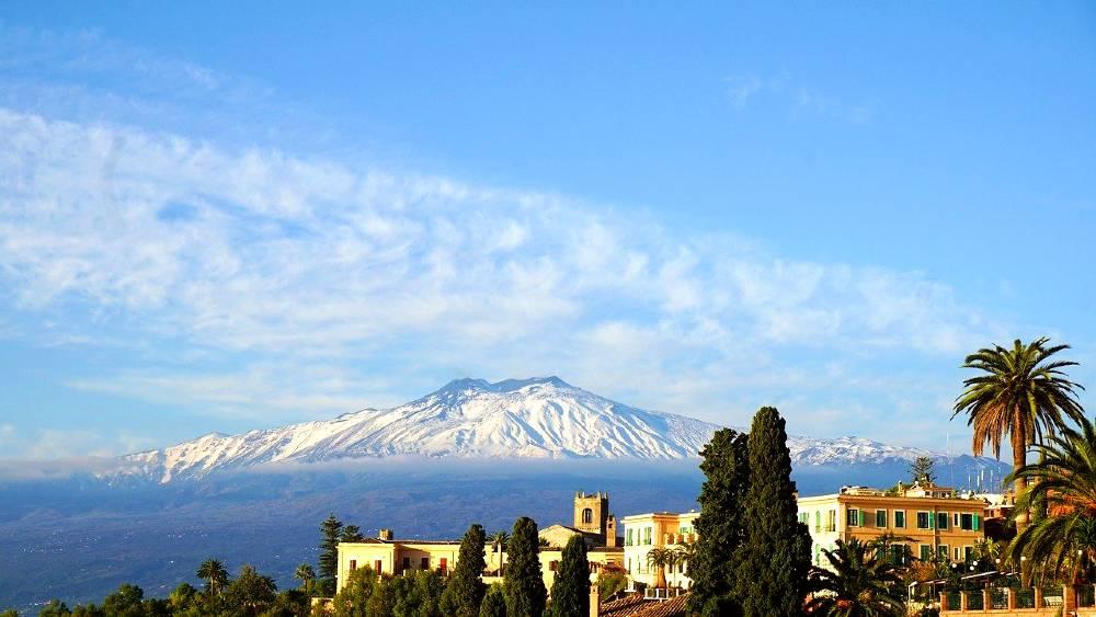 Sicily in european spring