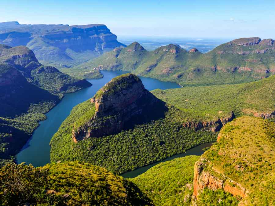 Blyde River Canyon is one of the best African landmarks