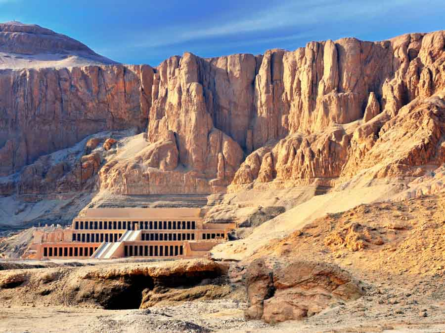 Valley of the Kings is one of the historical monuments of Africa