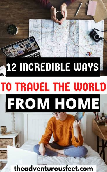 Stuck at home and can't travel? Here are the best travel related things to do at home.   things to do when you can't travel   things to do at home when not traveling   things to do when you're not traveling   travel things to do at home   how to kill bored when you're not traveling   best travel books to read   best travel movies to watch   best travel board games to play  how to stay busy at home when not traveling   things to do at home when not traveling   how to travel from home  travel the world from home  ways to travel the world from home #travelfromhome #virtualtours #coolthingstodoathome #theadventurousfeet