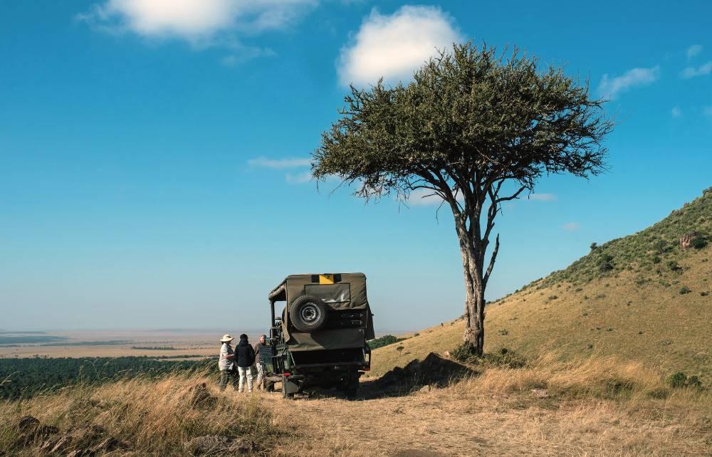 traveling through Africa
