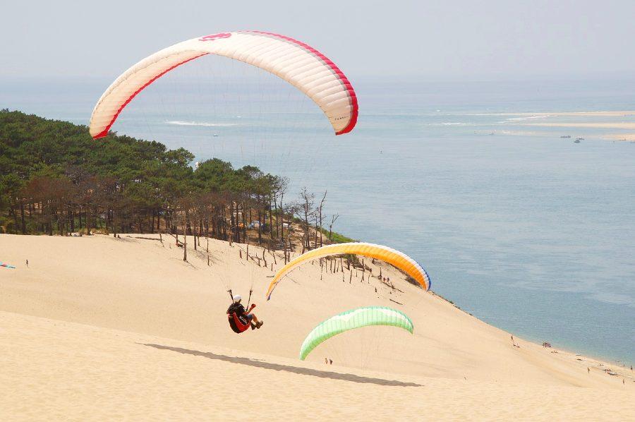 Dune du Pilat is one of the natural landmarks in France