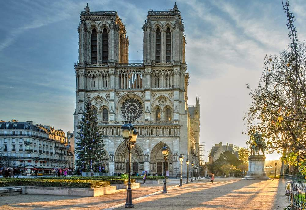 Notre-Dame is one of the most famous landmarks in France