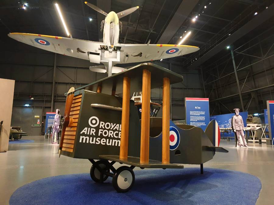 The RAF Museum, London is one of the best Europe museums