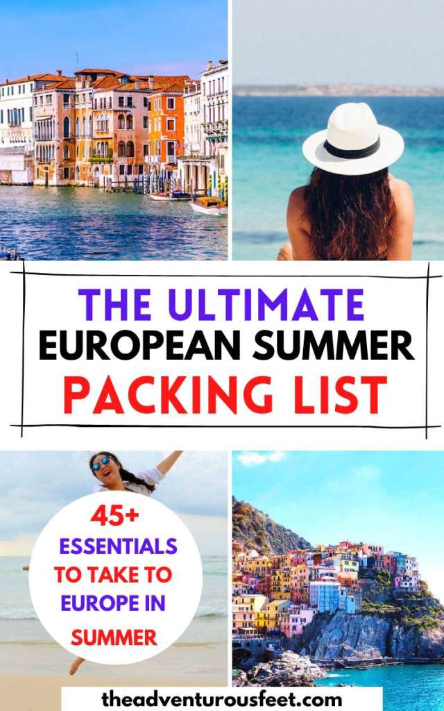 Traveling to Europe this summers? Here is everything you should pack before you go. | Packing list for Europe  in summer|  Europe travel packing list summer | Packing list for Europe summer | men's packing list europe summer|  europe summer packing list| what to wear in europe in summer| packing for europe in summer| summer vacation packing list| summer vacation packing list outfits|  travel necessities for europe| europe travel necessities | europe travel necessities in summer |europe packing list for europe summer