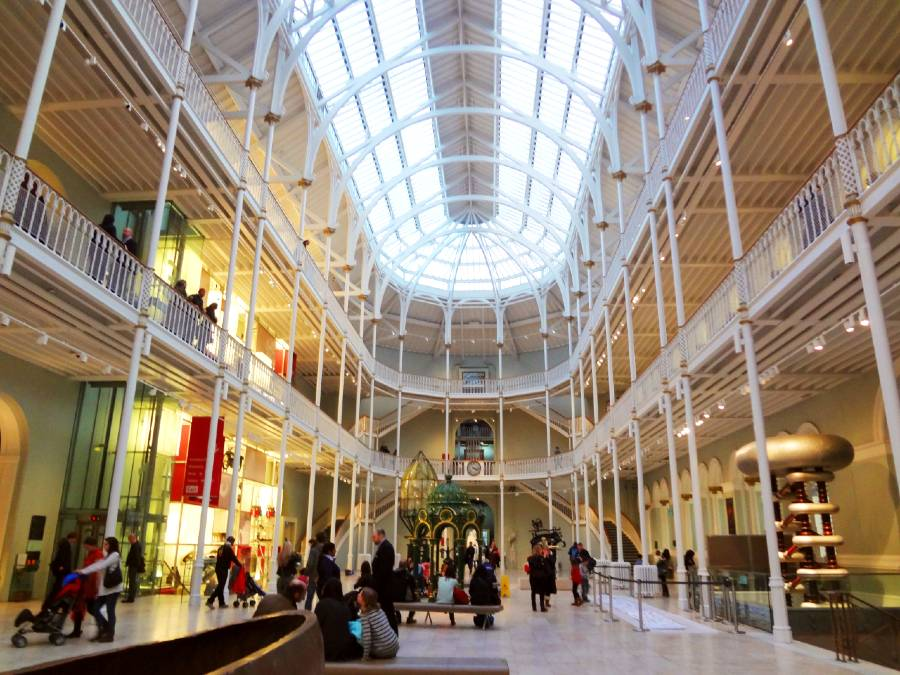 National Museum of Scotland, Edinburgh is one of the best European museums to visit