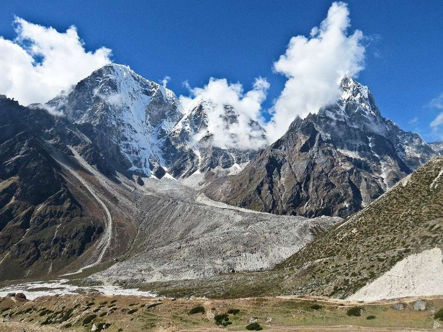 Mount Everest is one of the famous natural landmarks in Asia