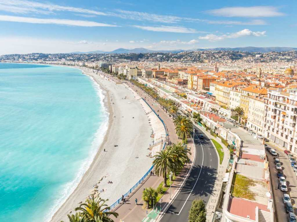 Nice is one of the most beautiful French cities to visit