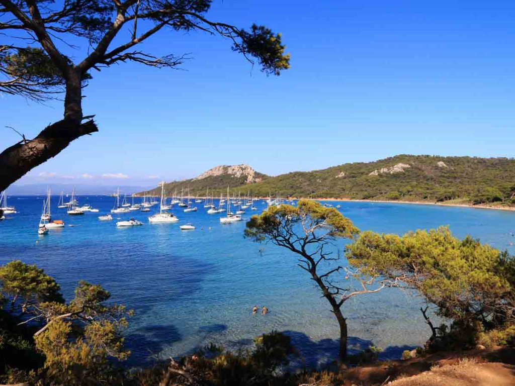 Plage Notre-dame is one of the best beaches in the south of France
