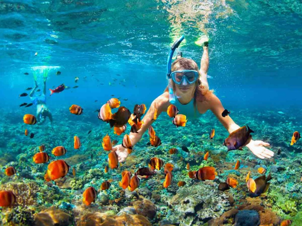 Snorkeling is one of the activities to add on your summer bucket list