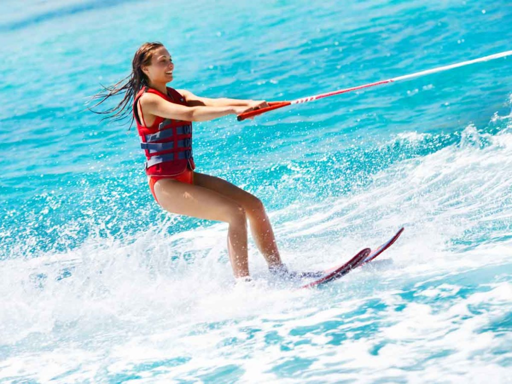 Going Water Skiing is one of the bucket list for the summer ideas