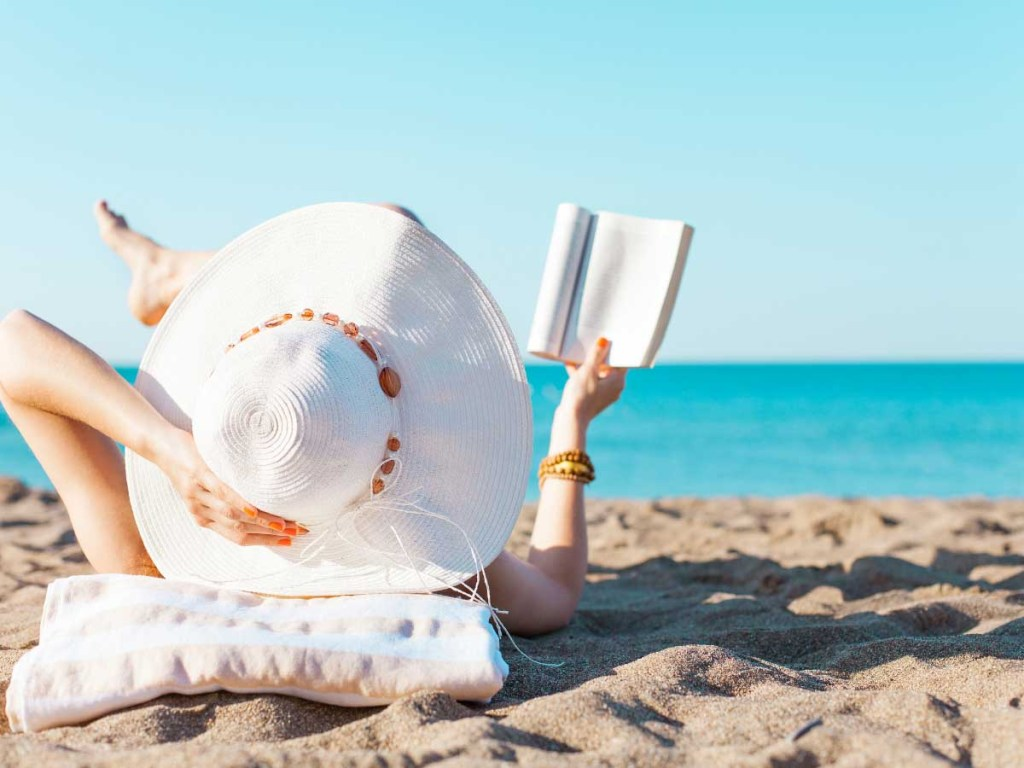 Relaxing at the Beach is one of the summer bucket list ideas