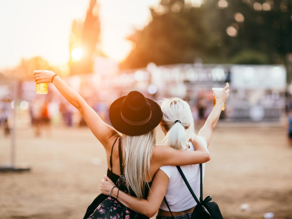 Attending a Summer Festival is one of the ideas for a bucket list for summer