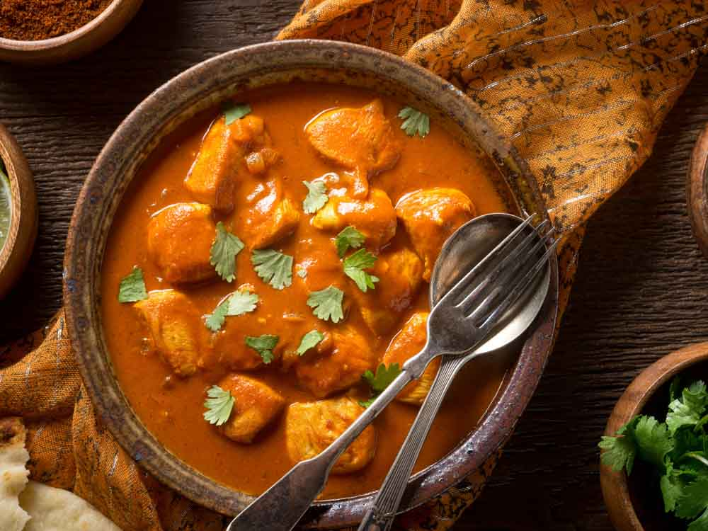 Curry is one of the things India is famous for