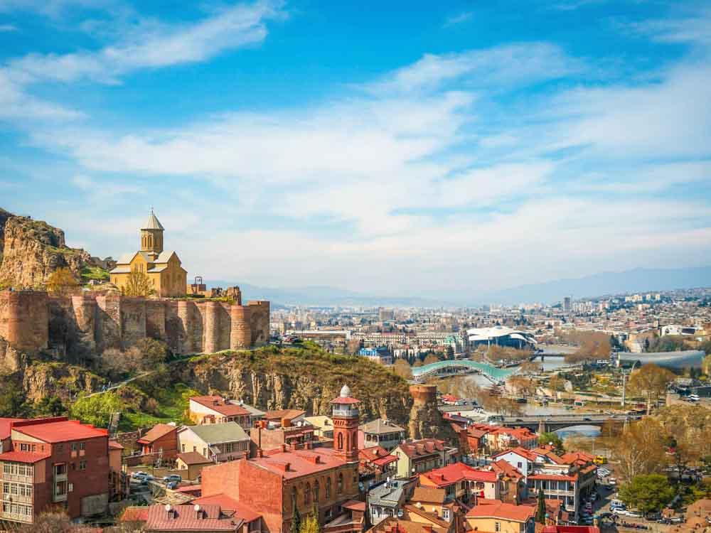 Georgia - Capital, Tbilisi