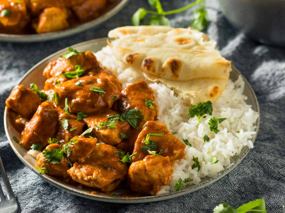 Indian Food is one of the famous things in India