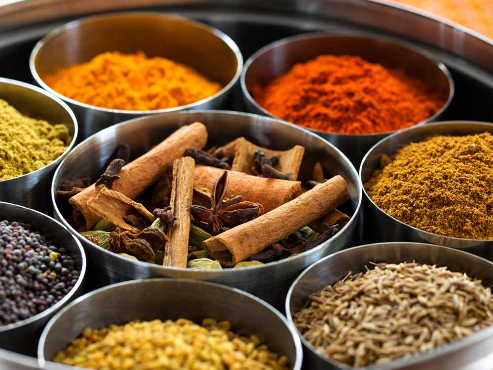 Indian Spices are some of the things India is famous for