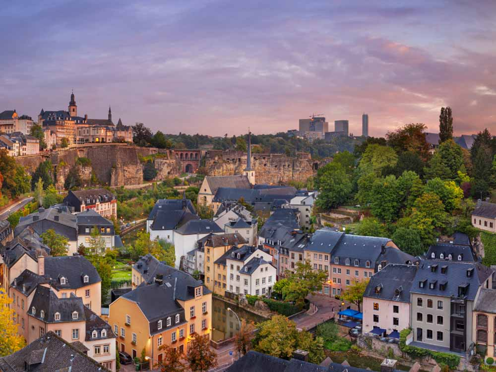 Luxembourg - Capital, Luxembourg city