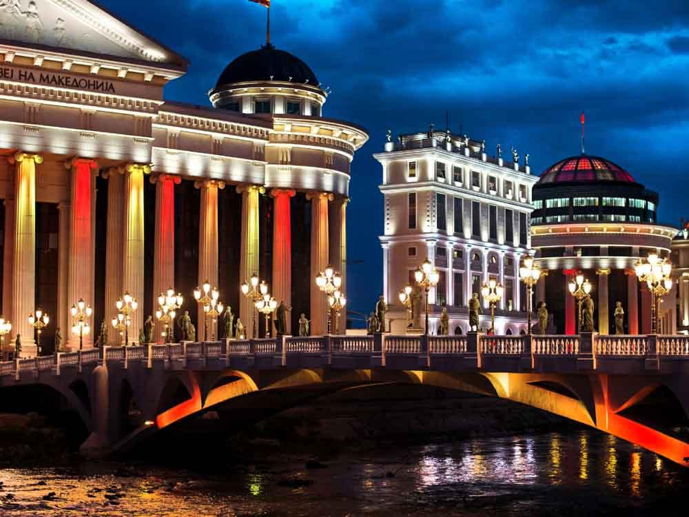 North Macedonia (formerly Macedonia) - Capital, Skopje