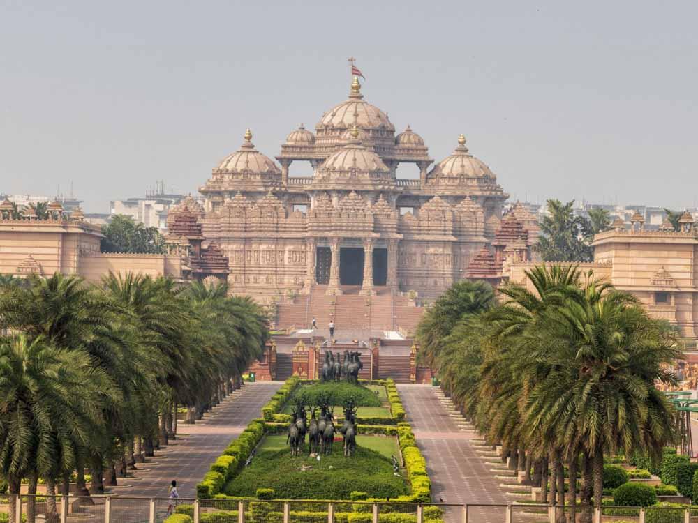 Swaminarayan Akshardham is one of the famous indian landmarks