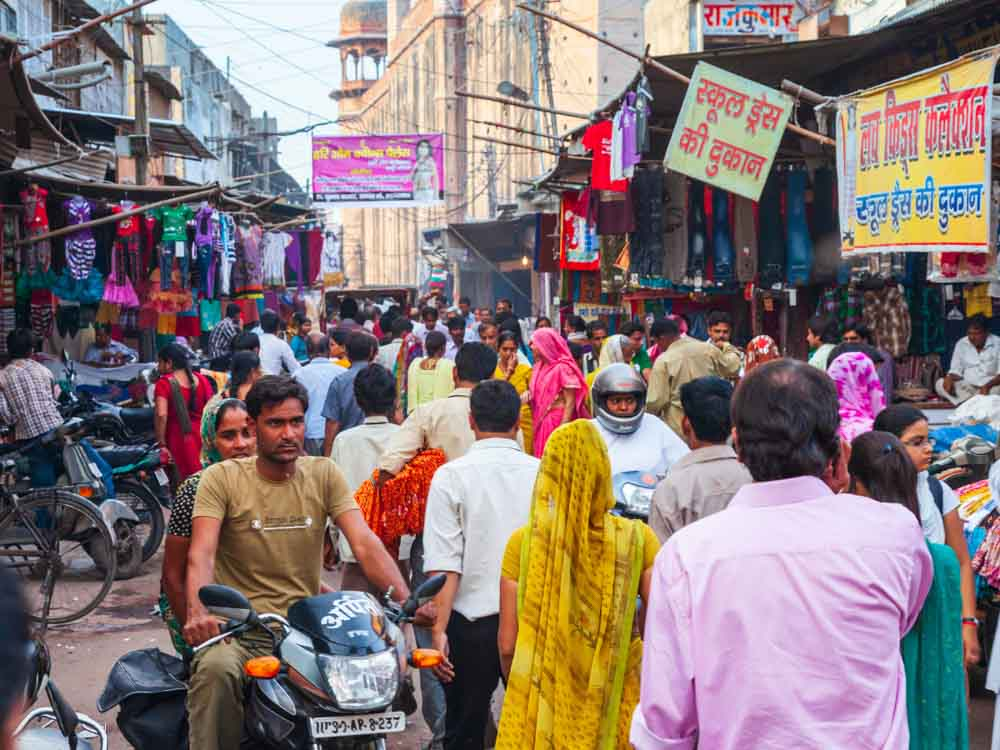 India is known for being one of the populated countries in the world