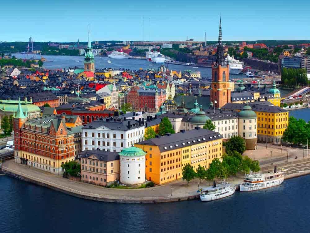 sweden - Capital, Stockholm